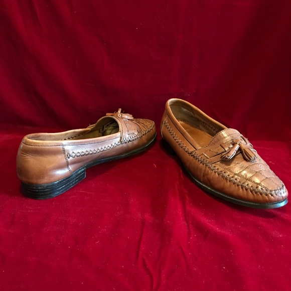 Martin Drake Other - Loafer Size 8.5 M Brown Leather Tassel Hand Stitch